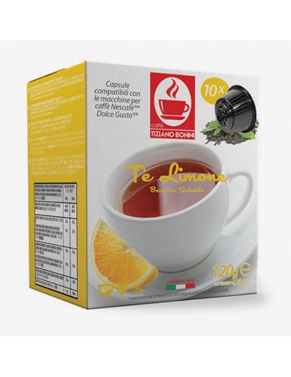 Tiziano Bonini - Lemon Tea, Dolce Gusto συμβατές 10 τεμ.