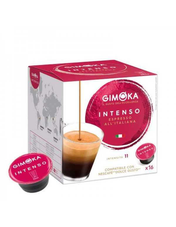 Gimoka - Intenso, 16x Dolce Gusto συμβατές