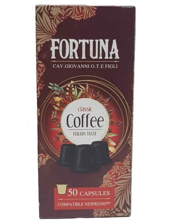 Fortuna -  Classico, 50x nespresso συμβατές