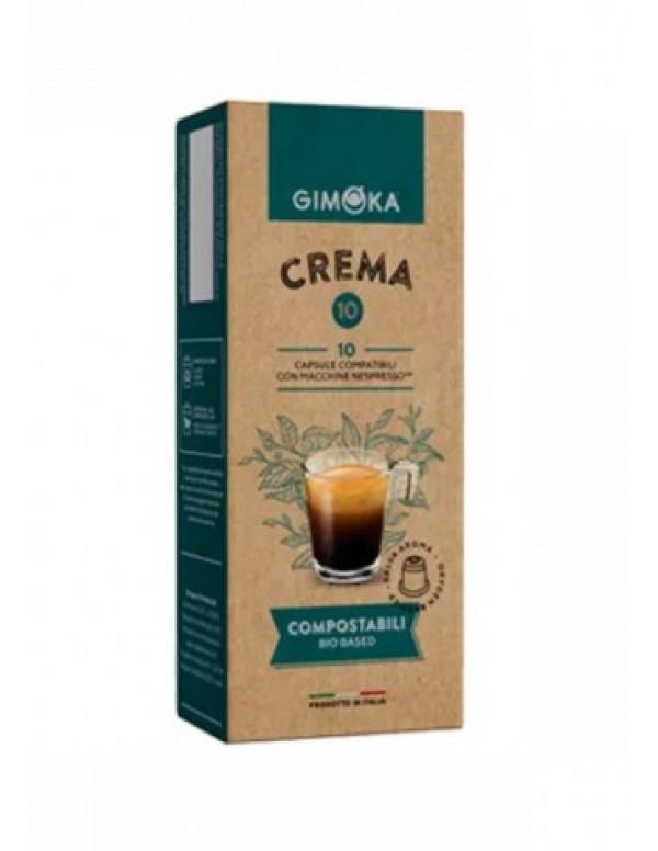 Gimoka - Crema, 10x nespresso συμβατές