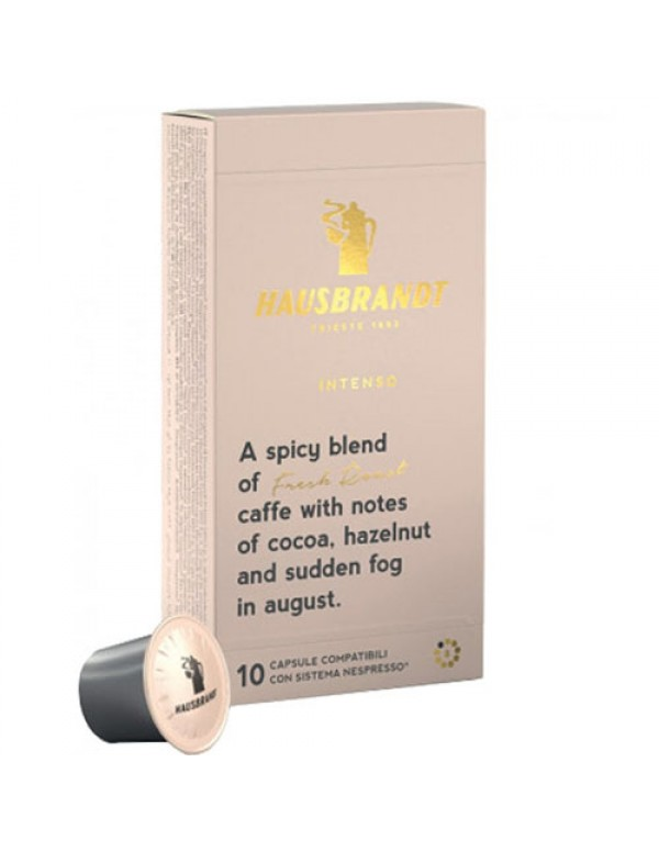 Hausbrandt - Intenso Nespresso, 10x