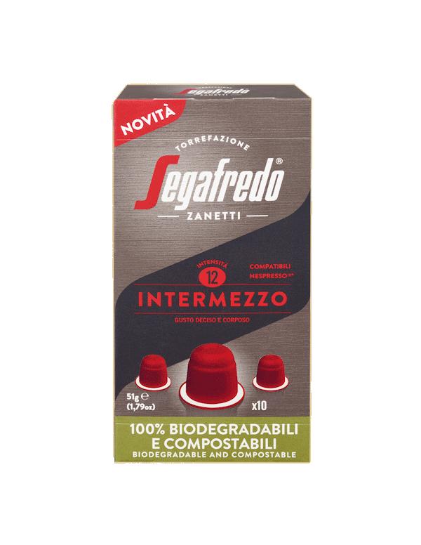 Segafredo - Intermezzo, 10x nespresso συμβατές