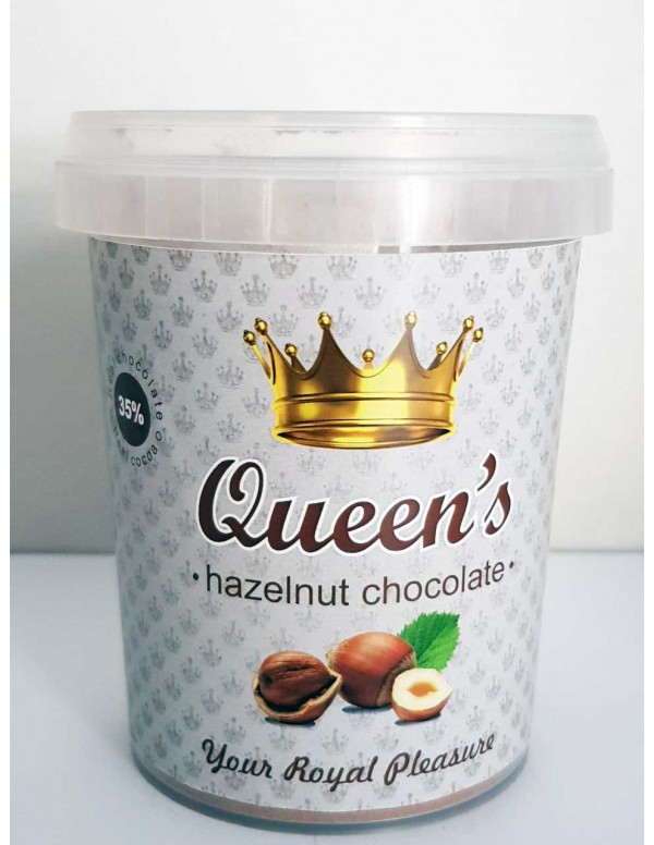 Σοκολάτα QUEEN's HAZELNUT, 330g