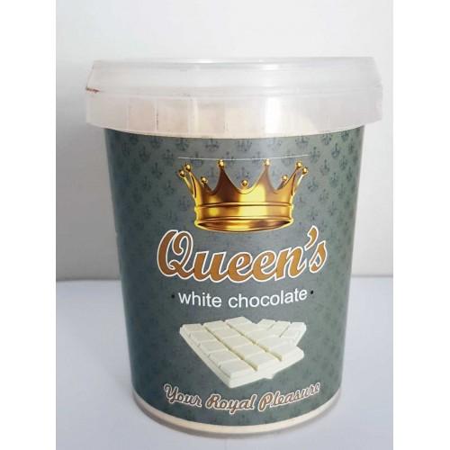 Σοκολάτα QUEEN's WHITE, 330g