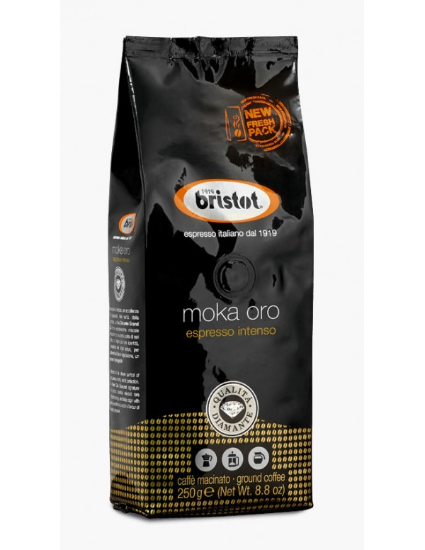Bristot - Espresso intenso, 250g αλεσμένος