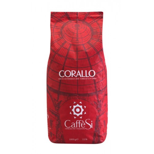 Caffe Si - Corallo, 1000g σε κόκκους