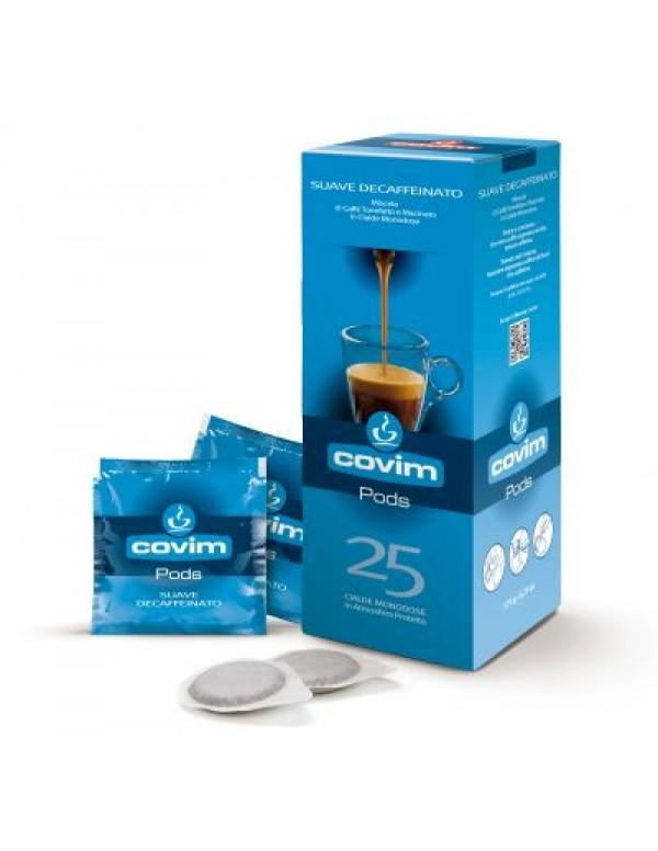 Covim - Decaffeinated, 25x χάρτινες ταμπλέτες καφέ