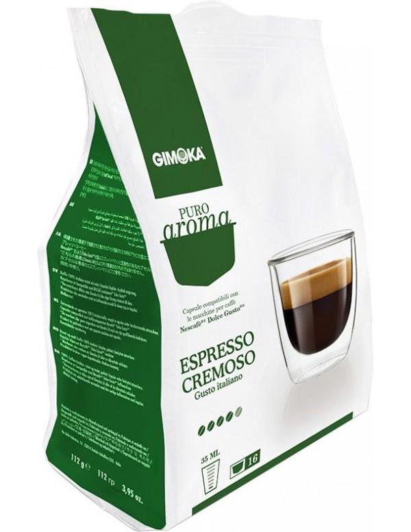Gimoka - Cremoso , 16x Dolce Gusto συμβατές