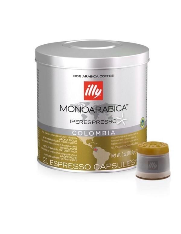 illy - Colombia Monoarabica, 21x iperespresso κάψουλες