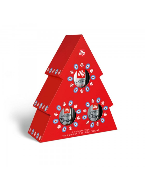 illy - Xmas Tree Limited Edition, 3 x 125g αλεσμένος
