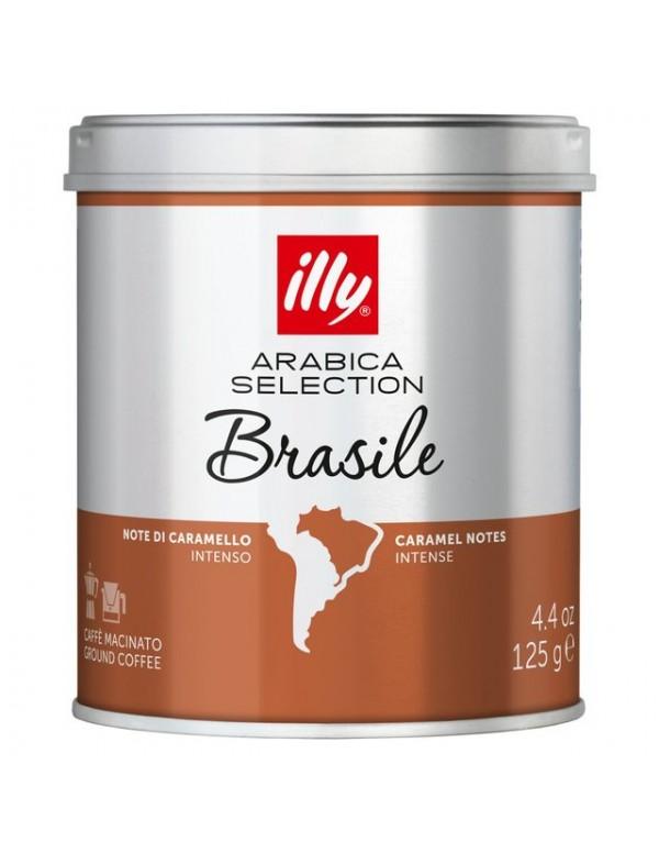 Illy- Brasile, 125g αλεσμένος