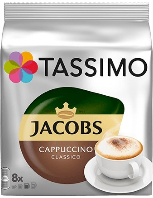 Jacobs - Cappuccino, 16x tassimo κάψουλες