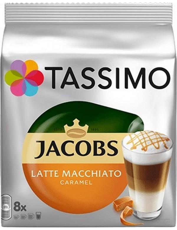 Jacobs - Caramel Macchiato, 16x Τassimo κάψουλες