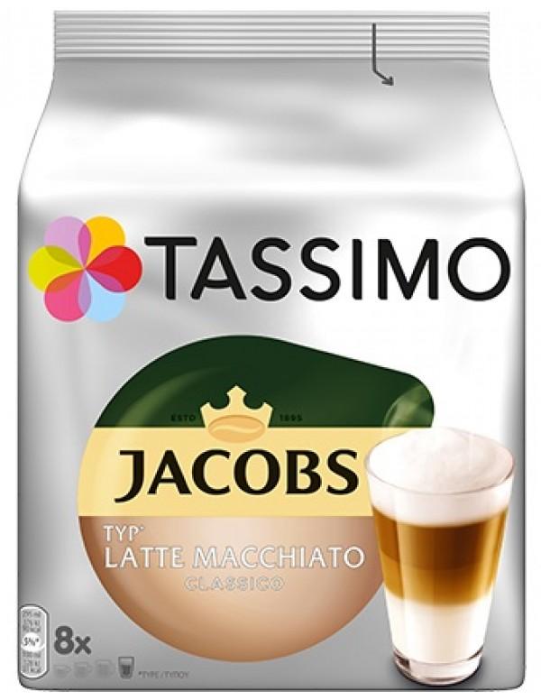 Jabobs - Latte Macchiato, 16x tassimo κάψουλες