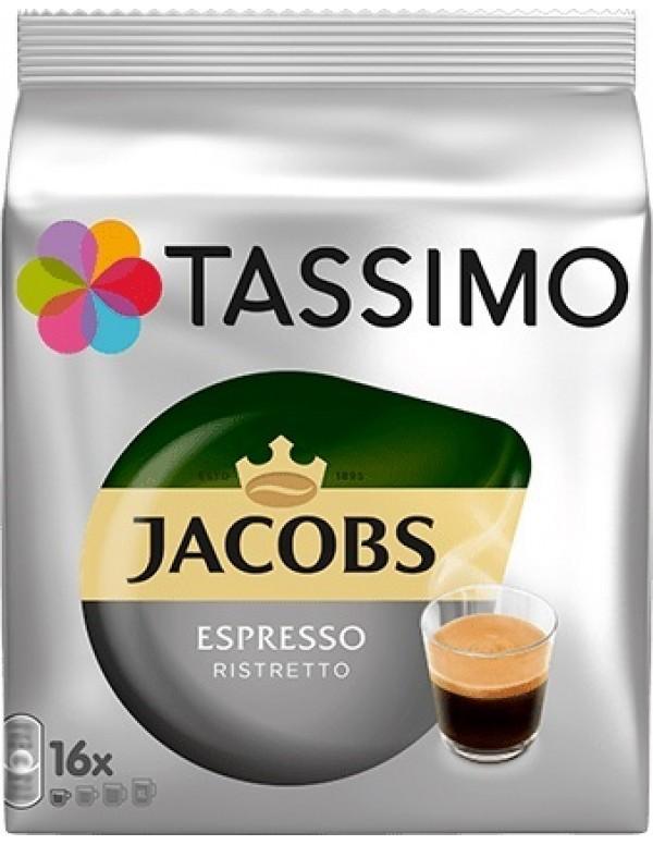 Jacobs - Espresso Ristretto, 16x Τassimo κάψουλες