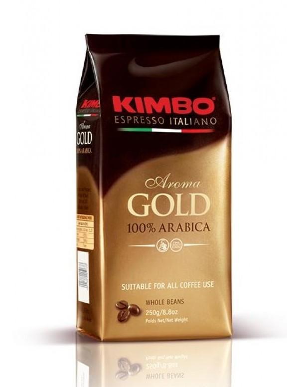 Kimbo - Gold 100% Arabica, 250g σε κόκκους