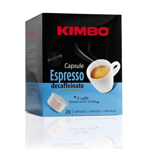 Kimbo - Decaffeinato, 20x κάψουλες καφέ