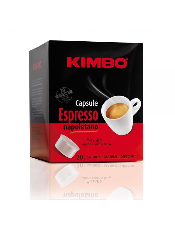 Kimbo - Napoletano, 20x κάψουλες καφέ