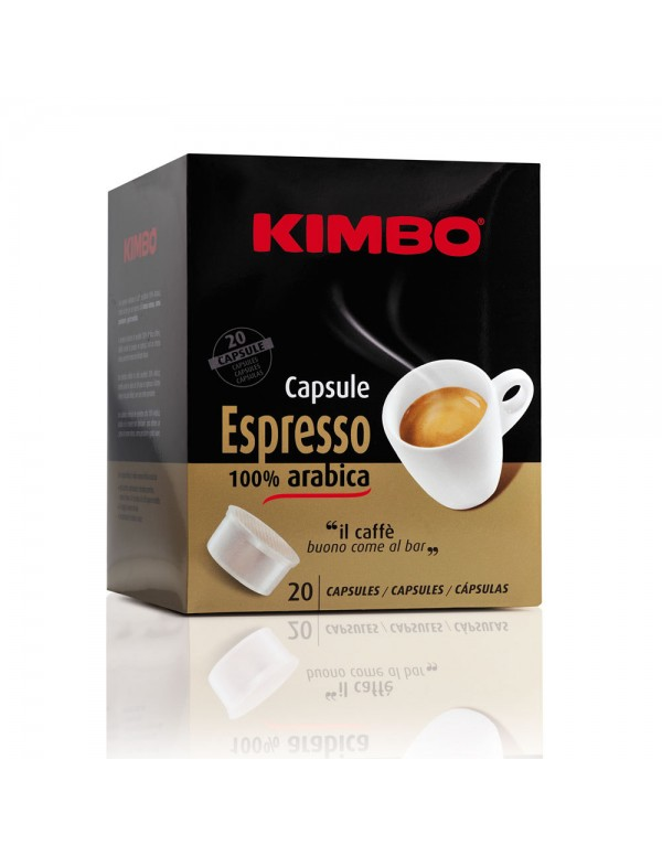 Kimbo - Arabica, 20x κάψουλες καφέ