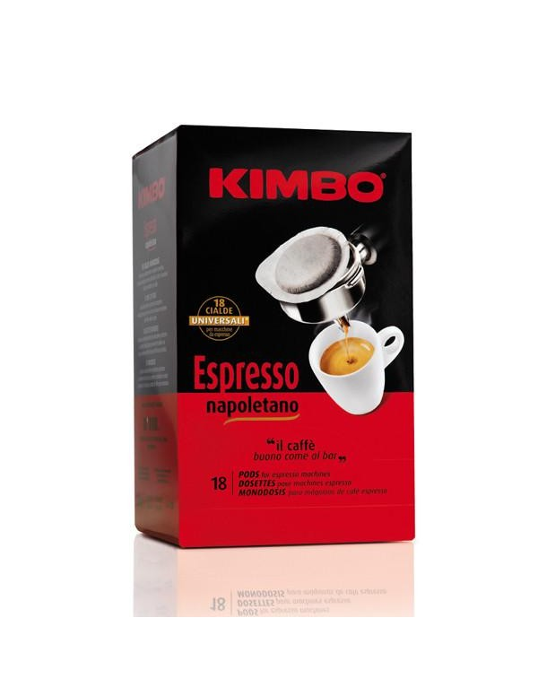 Kimbo - Napoletano, 18x ταμπλέτες καφέ