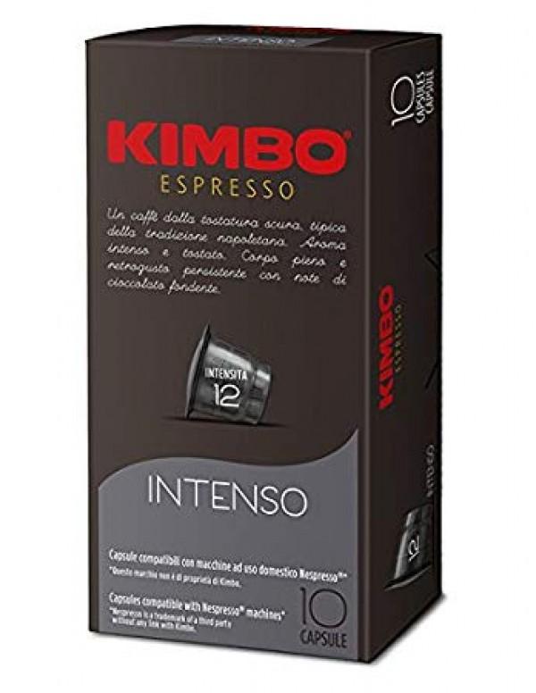 Kimbo - Intenso, 10x nespresso συμβατές