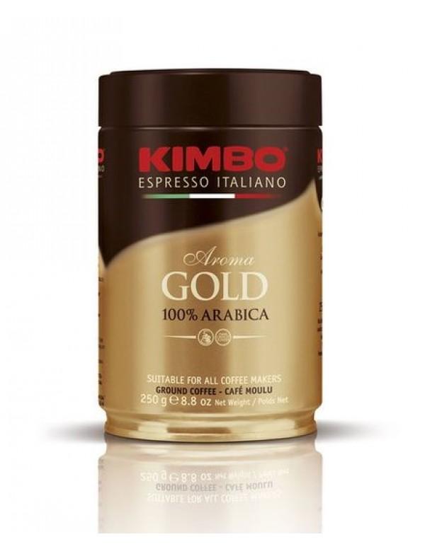 Kimbo - Aroma Gold 100% Arabica, 250g αλεσμένος