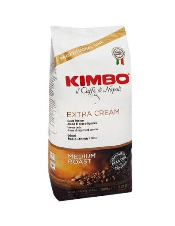 Kimbo -  Extra Cream, 1000g σε κόκκους