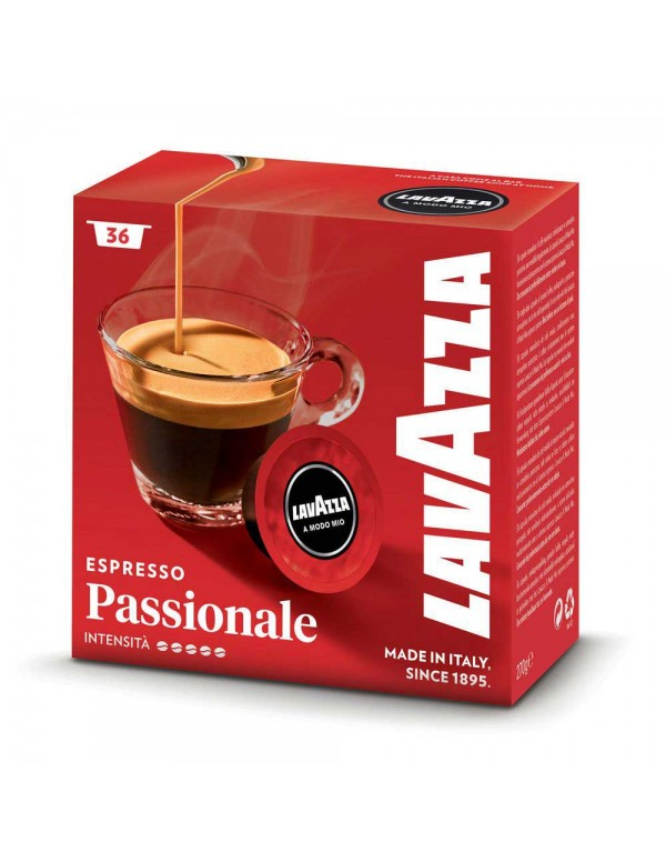 Lavazza A Modo Mio - Passionale, 36 τμχ (1+1 Δώρο)