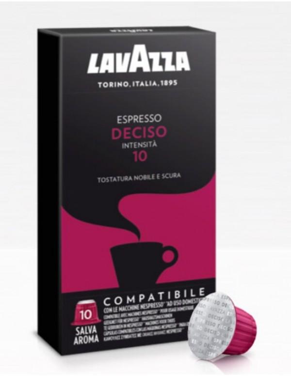 Lavazza - Deciso, 10x nespresso συμβατές