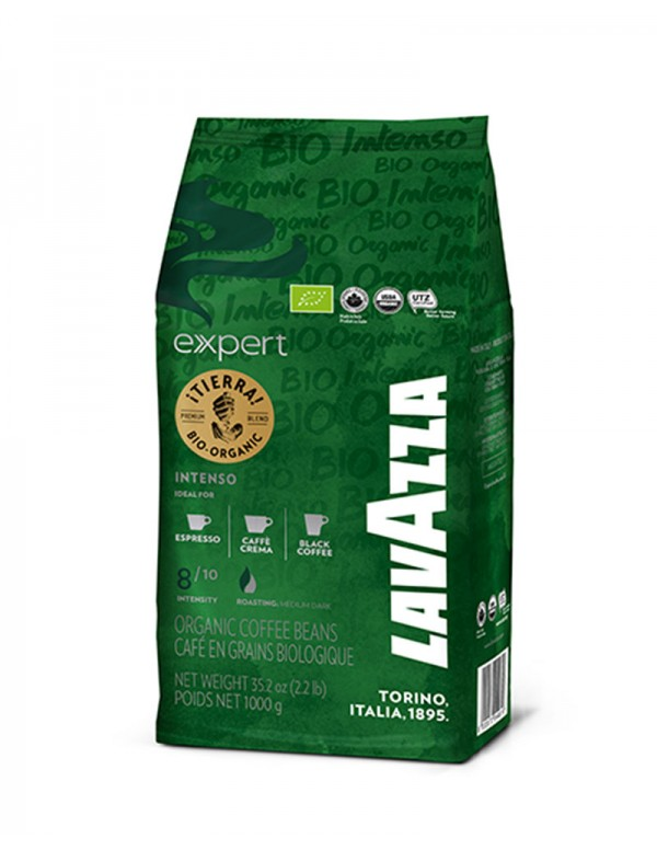 Lavazza - Tierra Bio Organic Expert, 1000g σε κόκκους