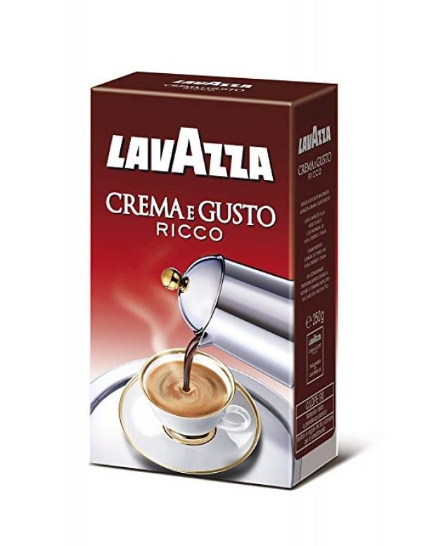 Lavazza - Crema E Gusto Ricco, 250g αλεσμένος