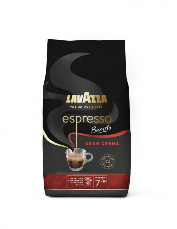 Lavazza - Gran Crema, 1000gr σε κόκκους (Νέα συσκευασία)