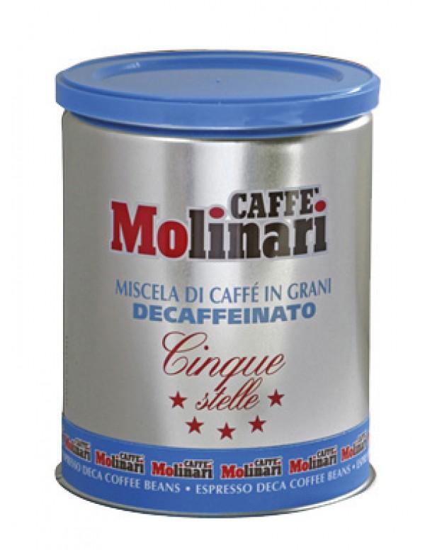 Molinari - Decaffeinato, 250g σε κόκκους