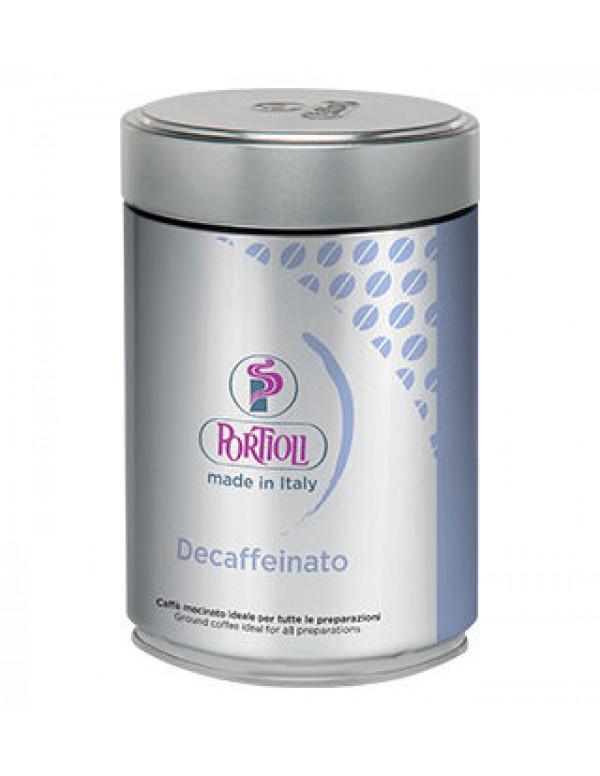 Portioli - Decaffeinato, 250g αλεσμένος