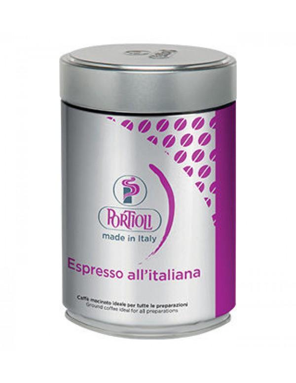 Portioli - Espresso, 250g αλεσμένος