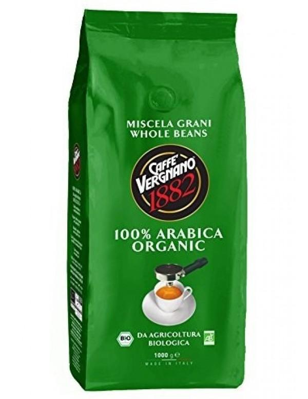 Vergnano - Bio Organic 100% Arabica, 1000g σε κόκκους