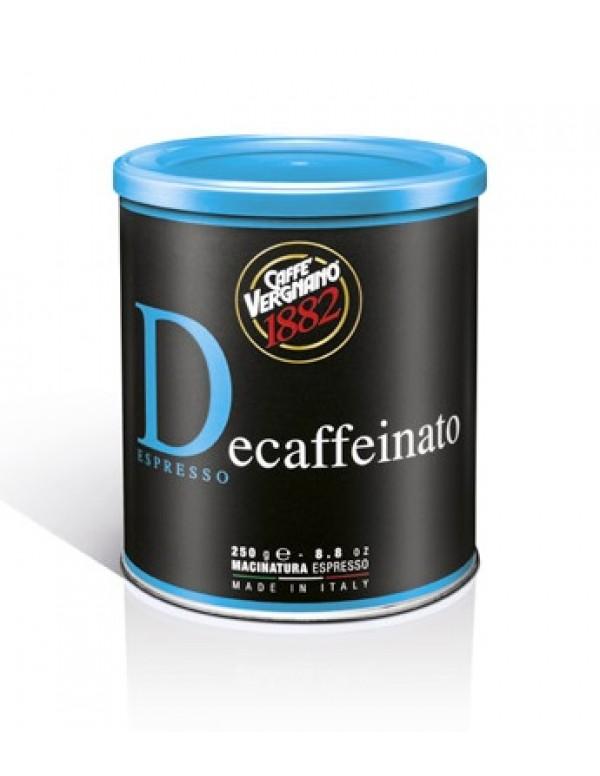 Vergnano - Decaffeinato, 250g αλεσμένος