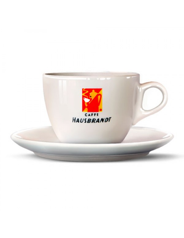 Hausbrandt - Cappuccino Cup with Saucer