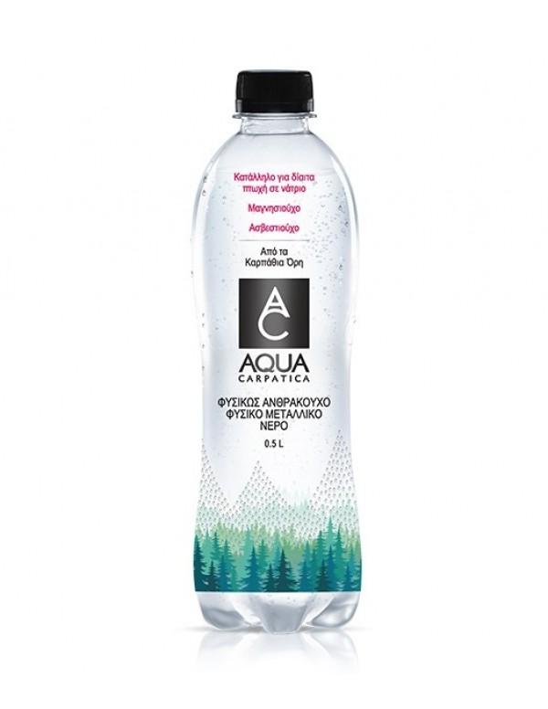 Aqua Carpatica - Φυσικό Ανθρακούχο Μεταλλικό Νερό, 500ml