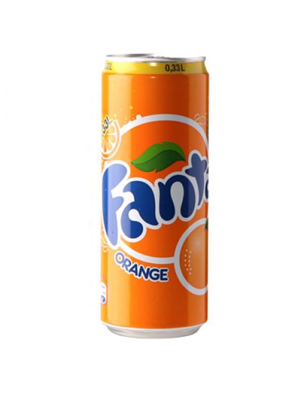 Fanta - Πορτοκάλι, 330ml