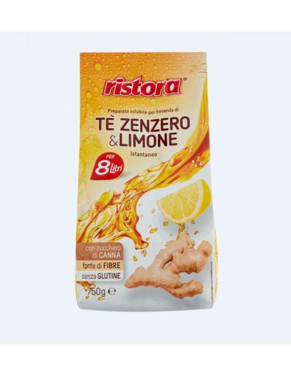 Ristora - Στιγμιαίο ρόφημα τσαγιού τζίντζερ και λεμόνι